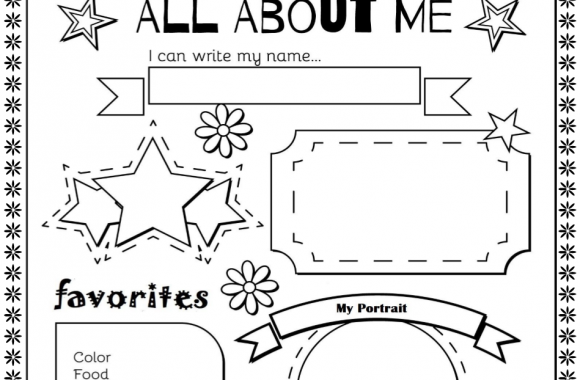 """September """"All About Me"""" Activity"""